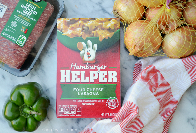 Hamburger Helper Four Cheese Lasagna Soup