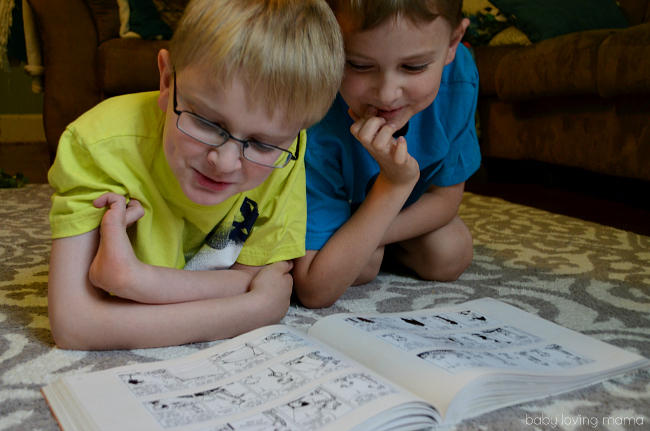 Kids Reading Together Scholastic Reading Challenge