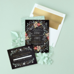 Wedding Stationary Beautifully Designed from Minted
