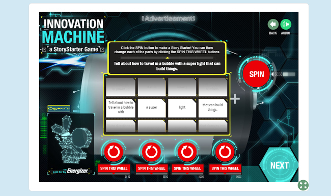 Scholastic Innovation Machine