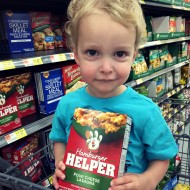 Getting My Son Involved in Shopping for Dinner #SaveonHelper