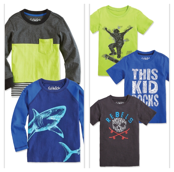 FabKids July Boys Tee Pack
