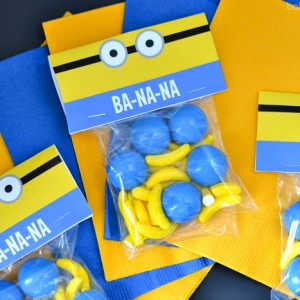 Minions Free Treat Printable: DIY Snack Bag