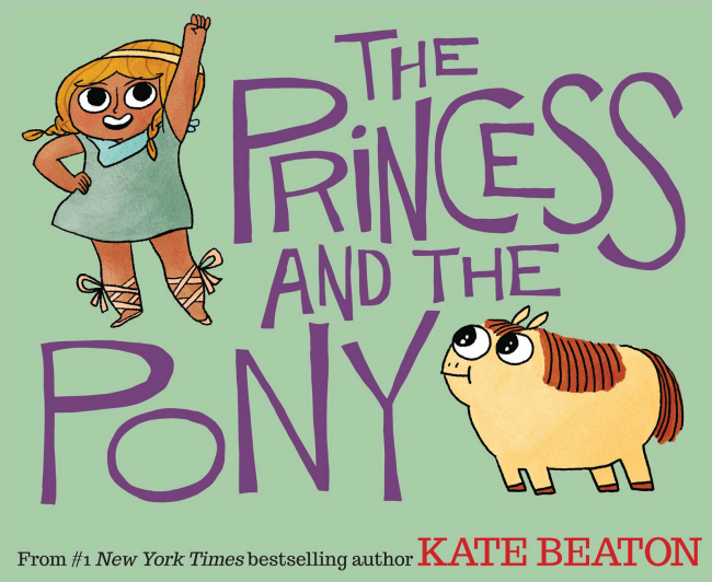 Princess and Pony Cover Kate Beaton