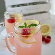 Homemade Raspberry Lemonade