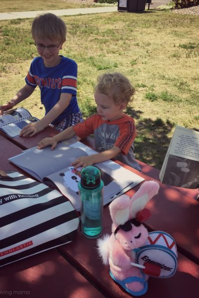 Having Fun with the Scholastic Summer Reading Challenge + Giveaway