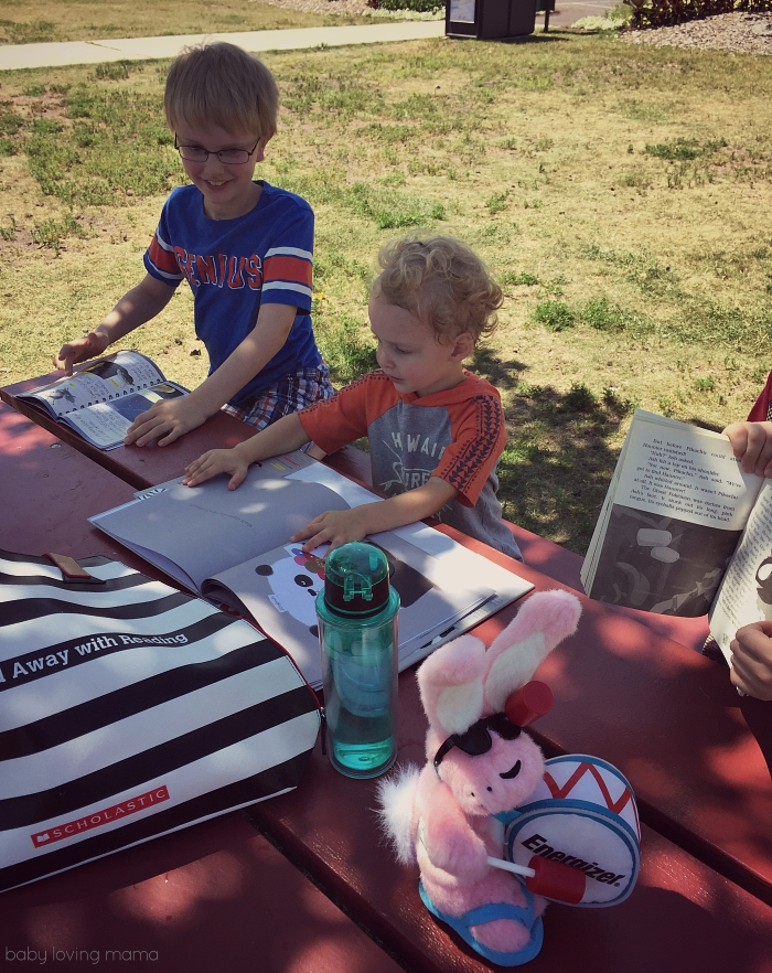 Scholastic Summer Reading in the Park