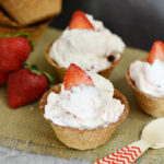 Strawberries and Cream Dessert Bowls