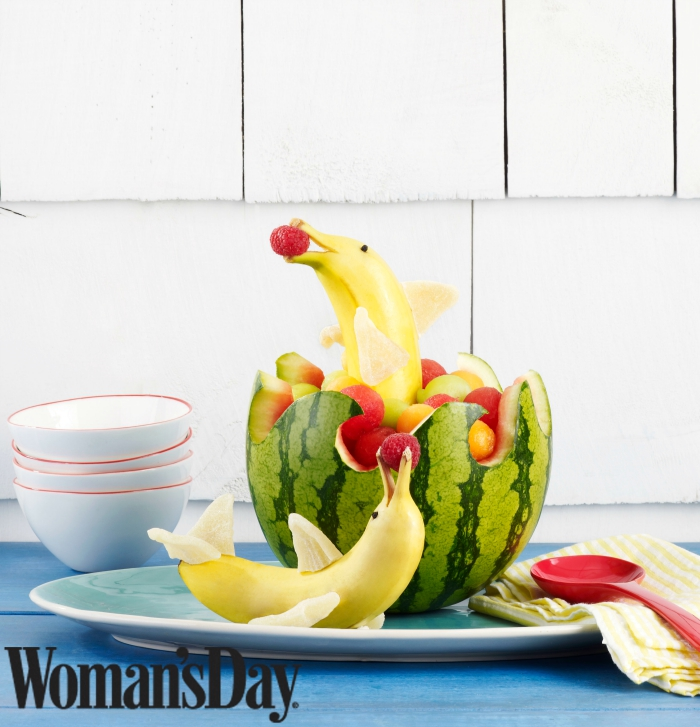 Dolphin Watermelon Bowl