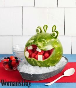 Hippo Watermelon Bowl