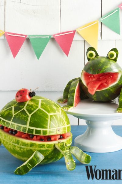 Frog Watermelon Bowl