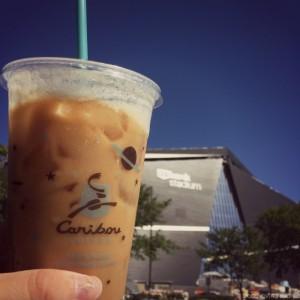 Caribou Coffee at US Banks Stadium Tour