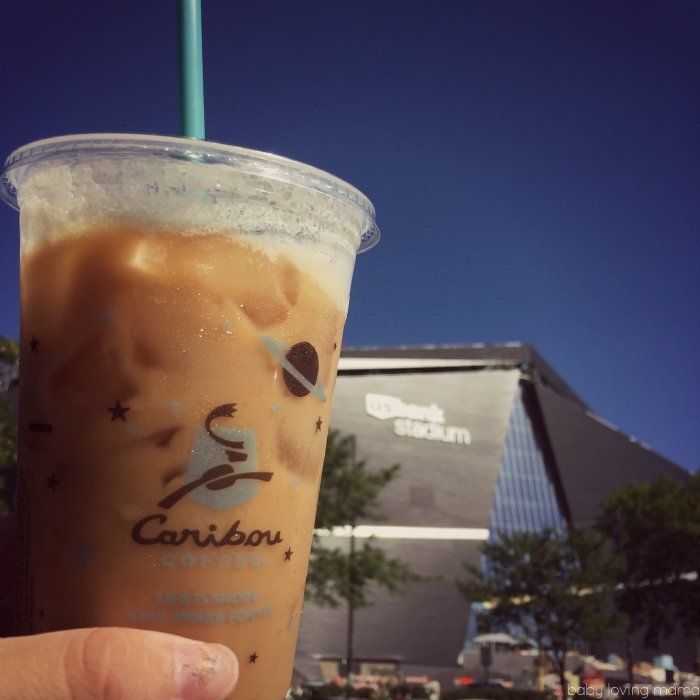 Caribou Coffee at US Banks Stadium Tour