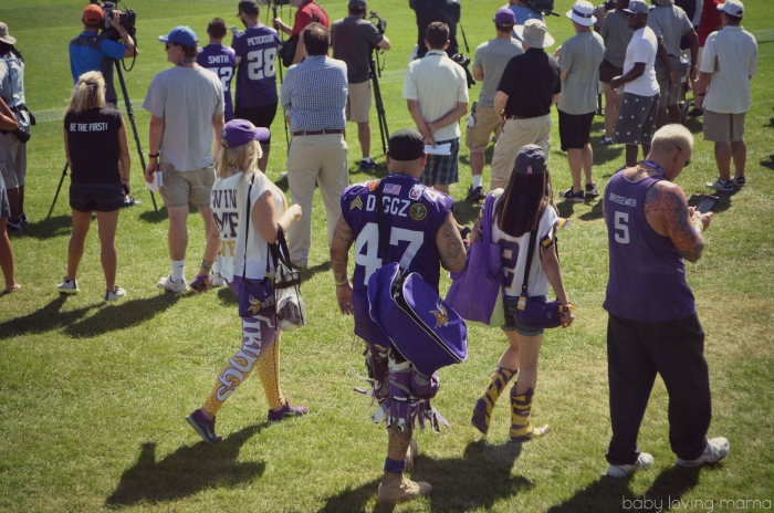 MN Vikings Training Camp Mankato Vikings Biggest Fans