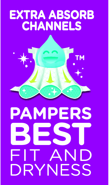 Pampers Extra Absorb Channels