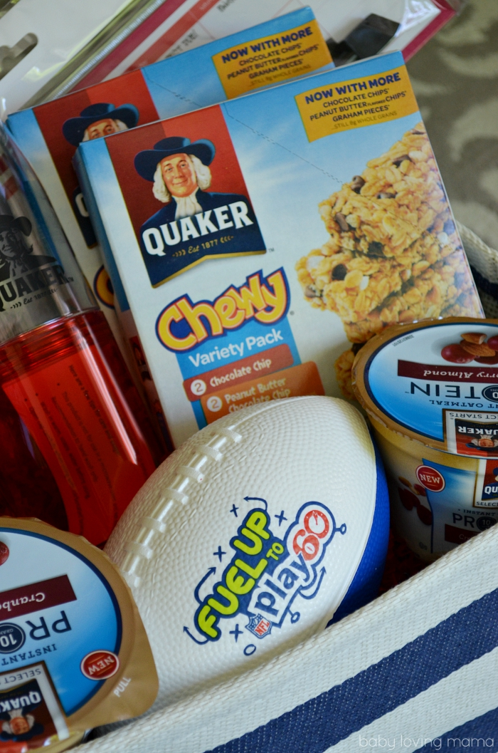 Quaker Fuel Up to Play 60 Prize