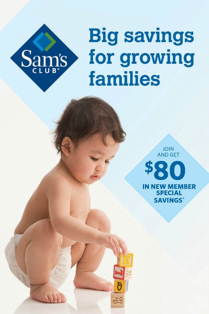 Sams Club Big Savings for Growing Families