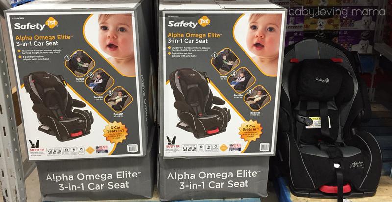 Safety 1st Alpha Omega EliteTM 3 In 1 Car Seat