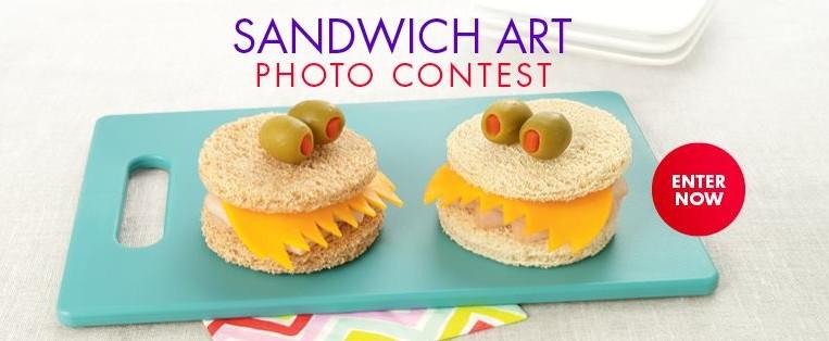 Sandwich Art Contest Natures Harvest Breads