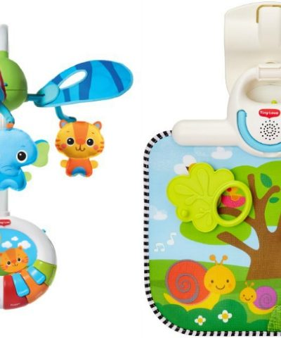 Tiny Love Crib Toy and Dual Motion Developmental Mobile Offer Crib Time Fun + Giveaway