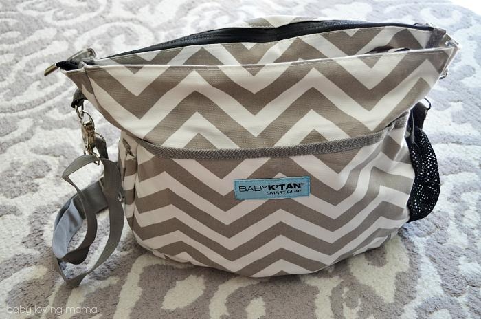 UOBS Baby KTan SmartGear Diaper Bag