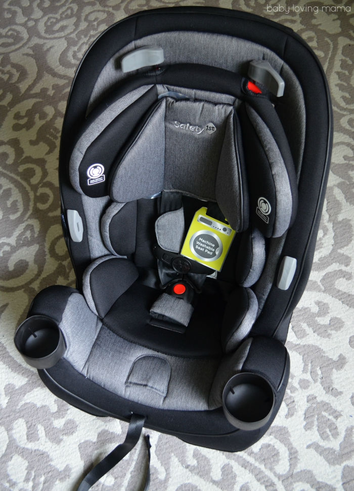 UOBS Safety 1st Grow and Go 3-in-1 Convertible Car Seat Boulevard