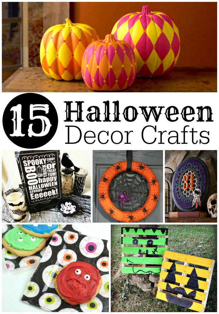 Halloween Decor Crafts