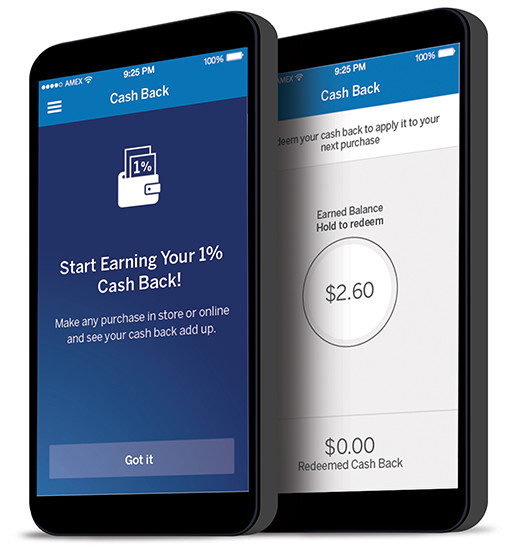 American Express Serve Card Cash Back