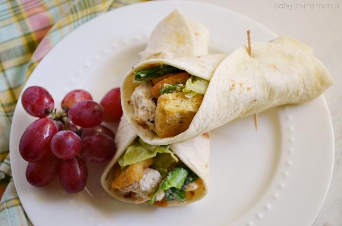 Caesar Salad Wrap