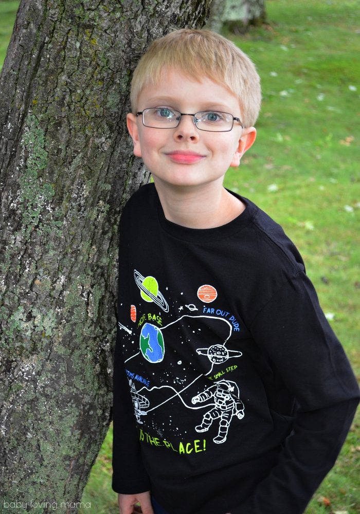 Childrens Place Fall Fashion Science Graphic Tees