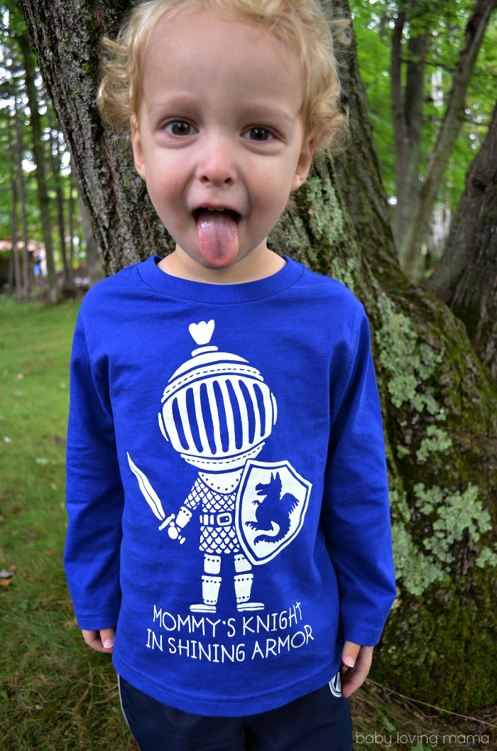 Childrens Place Long Sleeved Knight in Shining Armor Tee