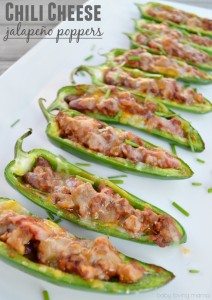 Chili Cheese Jalapeño Poppers