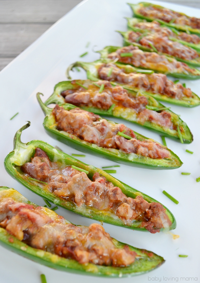 Chili Cheese Jalapeno Poppers: Low-Carb Game Day Appetizers