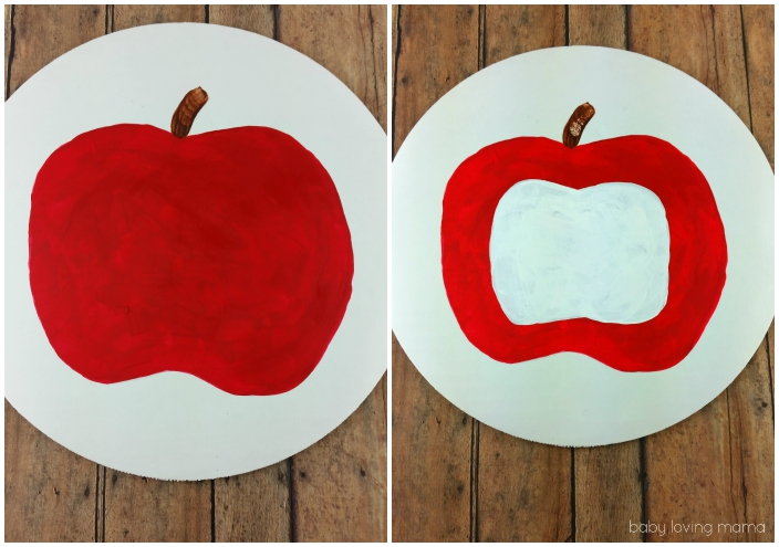 Easy Apple Craft Steps