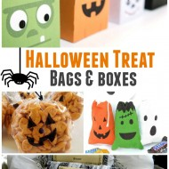 Over 20 of the Best Halloween Treat Bags and Boxes Ideas