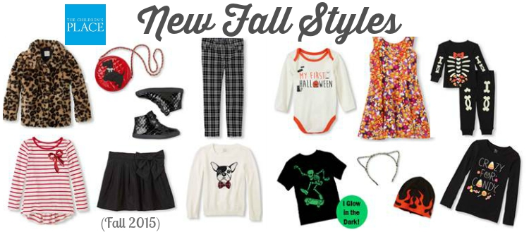 The Childrens Place New Fall Styles Fall 2015