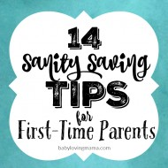 14 Sanity-Saving Tips for First-Time Parents