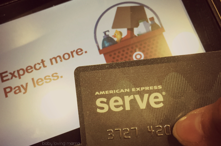 American Express Serve at Target Starbucks