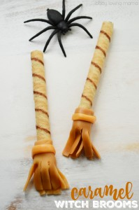 Caramel Witch Brooms