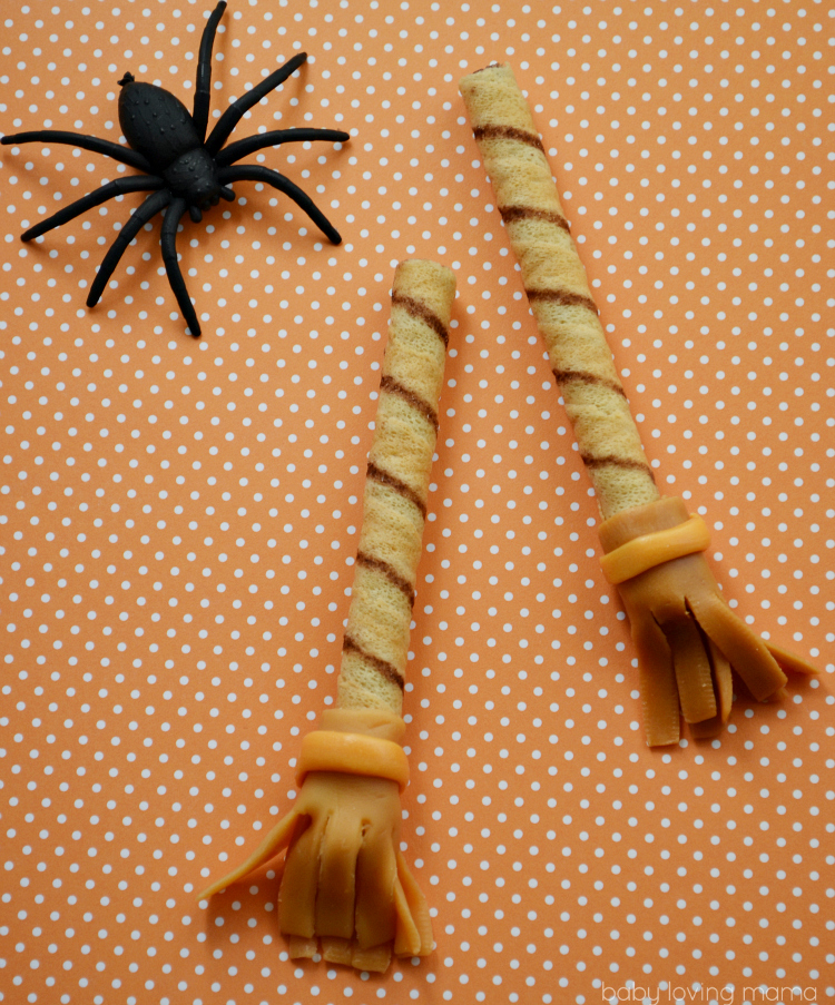 Caramel Witch Broomsticks