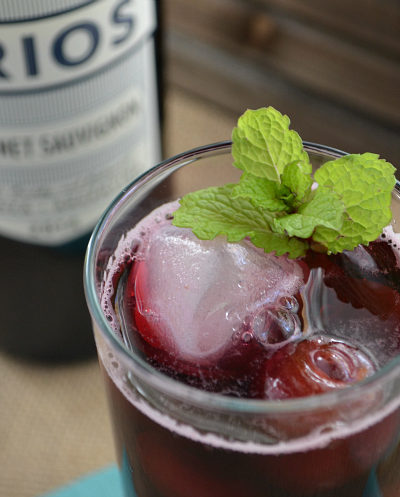 Cherries Jubilee Wine Cocktail Recipe