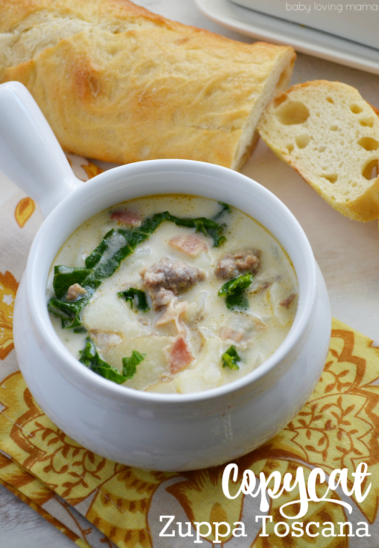 Copycat Zuppa Toscana Soup Recipe from Olive Garden Finding Zest