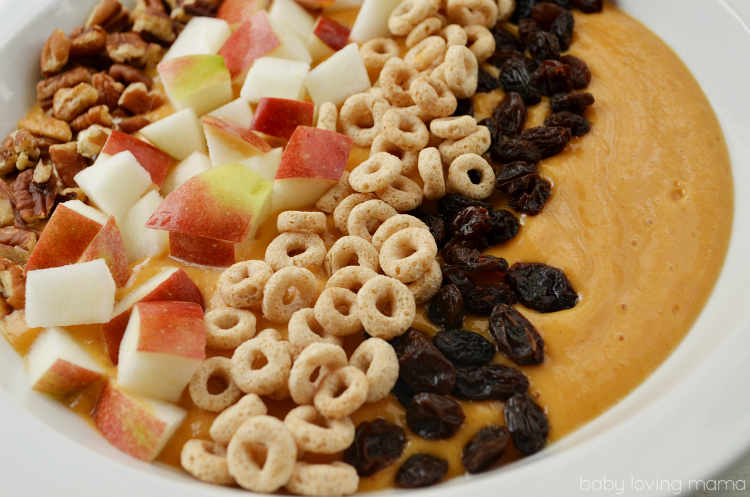 Fall Flavors Smoothie Bowl