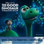 Sun-Maid Raisins and The Good Dinosaur Movie Ticket Promotion and Sweepstakes