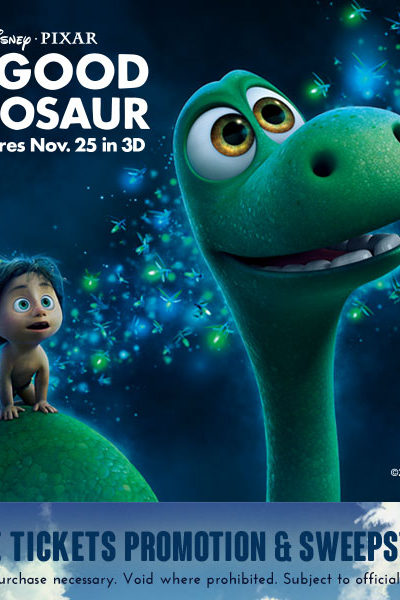 Good Dinosaur Sweepstakes