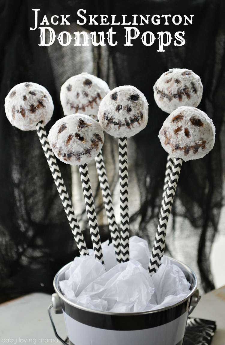 ack Skellington Donut Pops
