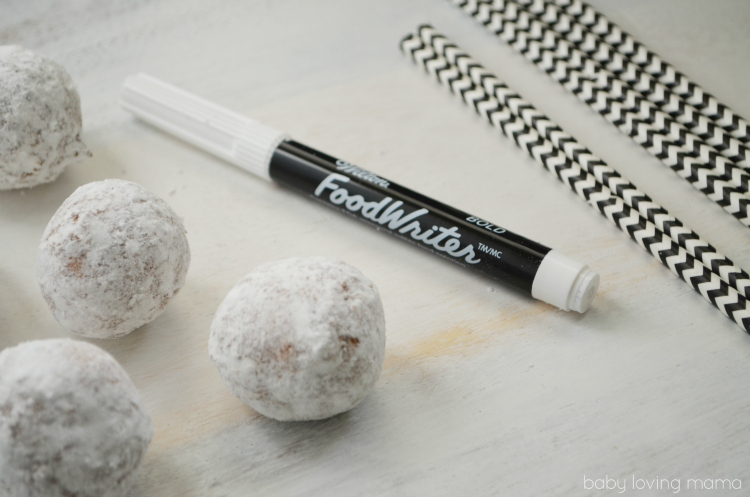Jack Skellington Donut Pops Supplies