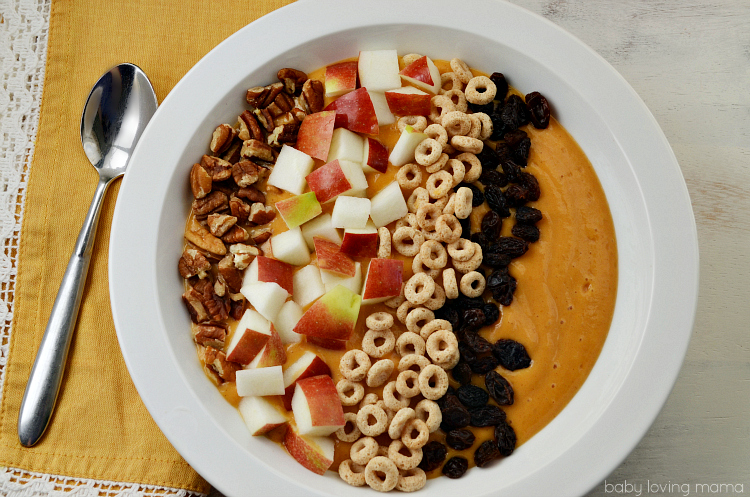 Pumpkin Apple Smoothie Bowl Recipe