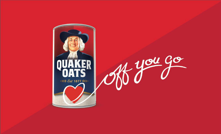 Quaker OYG logo red