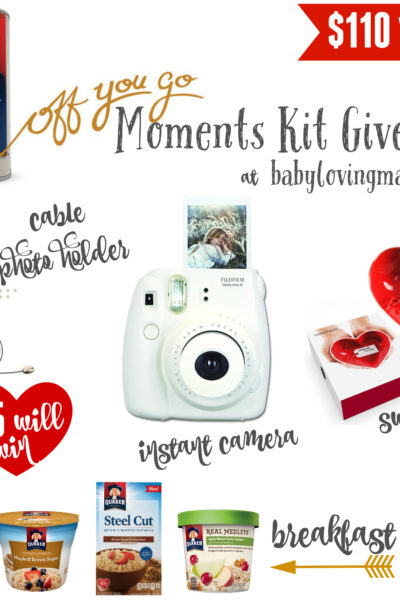 Quaker Off You Go Moments Kit Giveaway